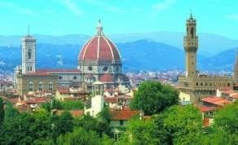 The beautiful skyline of Florence