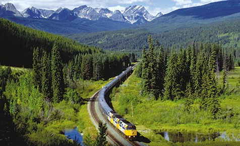 VIA Rail® The Canadian train