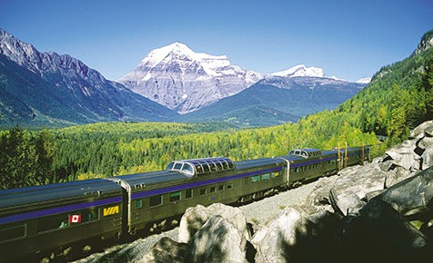 VIA Rail 'The Canadian' train