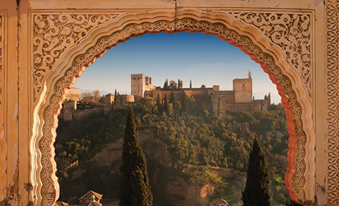 View to the Alhambra, Granada